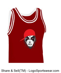 Adult Old School Basketball Jersey Design Zoom